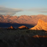 Zabriskie Point in the morning sun 2