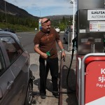 This is Joe, pumping gas, somewhere along the Golden Circle