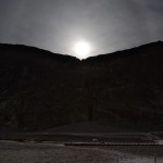 Moon rise over Badwater 2